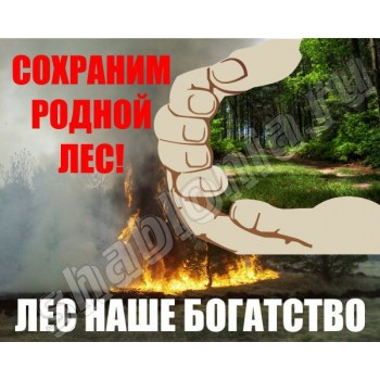 Аншлаг Сохрани родной лес