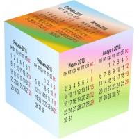 Календарь куб на год