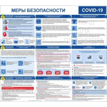Макет стенда COVID-19