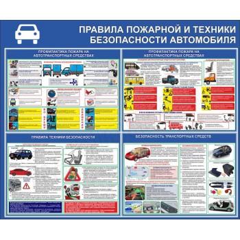 Правила пожарной и техники безопасности автомобиля