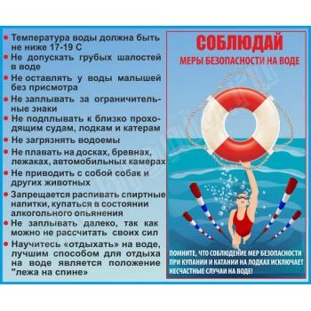 Соблюдай меры безопасности на воде