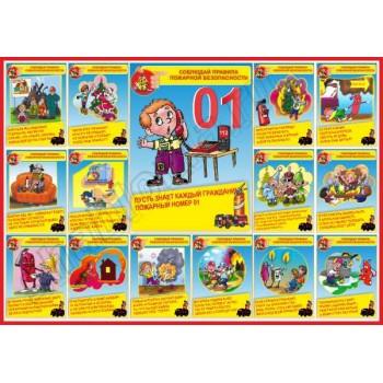 Макет детского стенда Пожарная безопасность