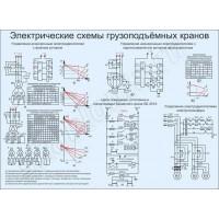 Электрическая схема грузоподъёмных кранов