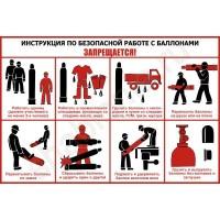 Инструкция по работе с газовыми баллонами