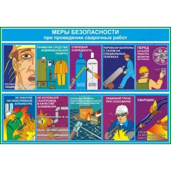 Меры безопасности при проведении сварочных работ