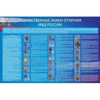 Ведомственные знаки отличия МВД России